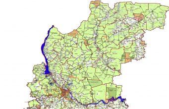 Карта охотничьих угодий Нижегородской области